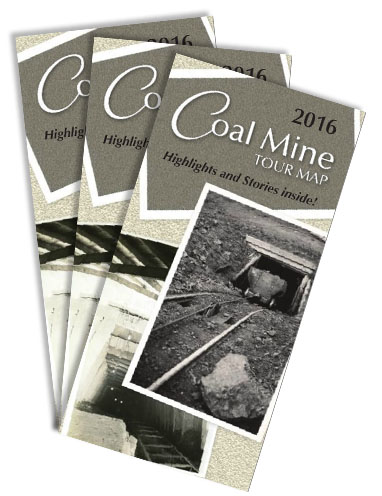 2016 Coal Mine Tour Map cover collage