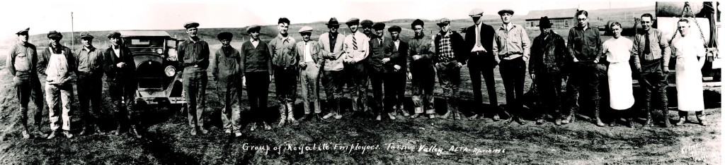 Group of Royalite Employees - Courtesy of Provincial Archives of Alberta