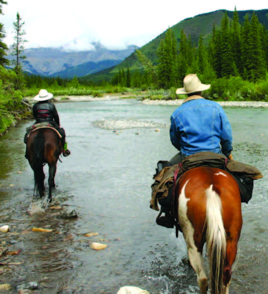 Horseback riding Sundre