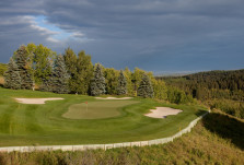 Priddis Green 11th hole on the Raven Course