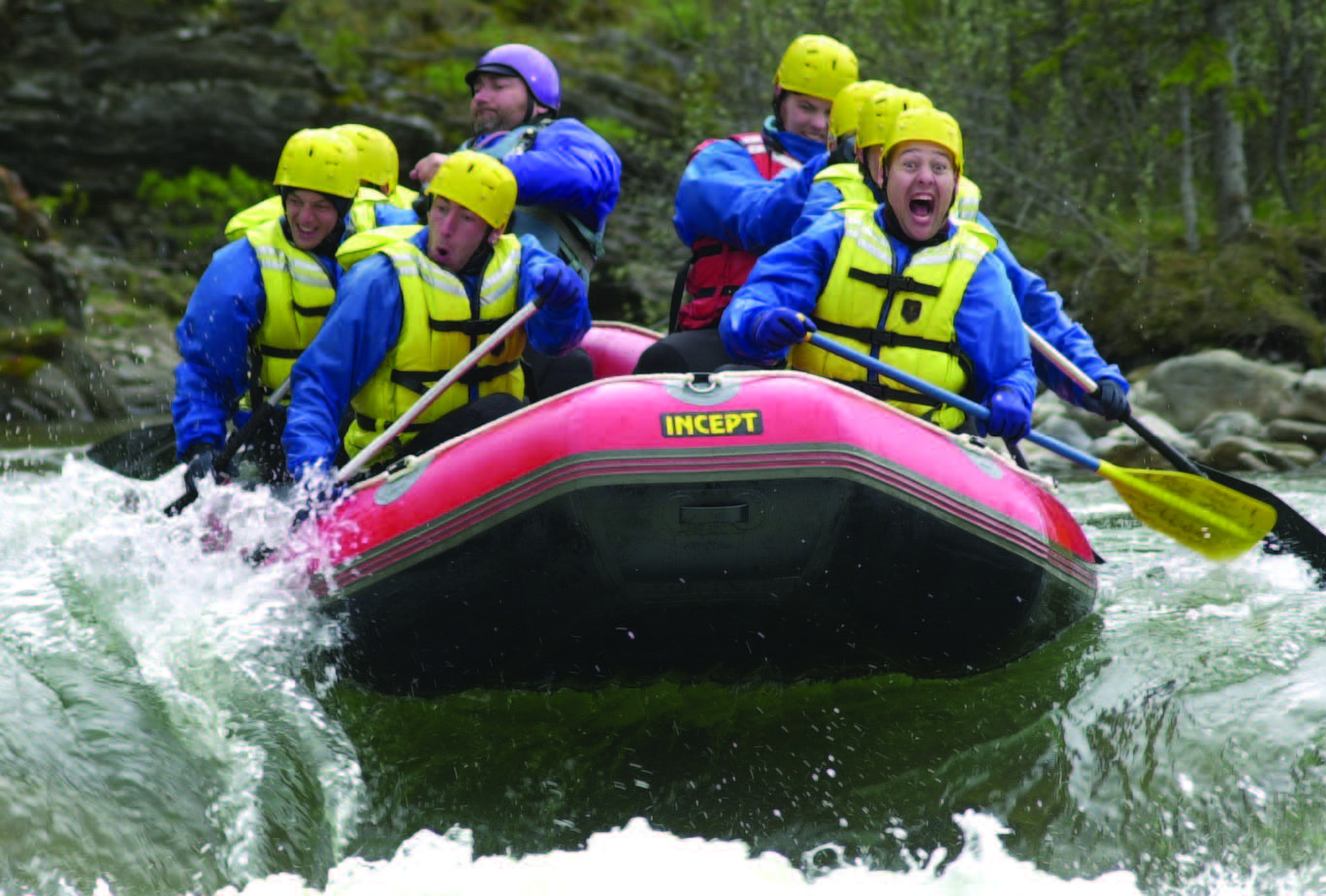 Sundre Whitewater Rafting