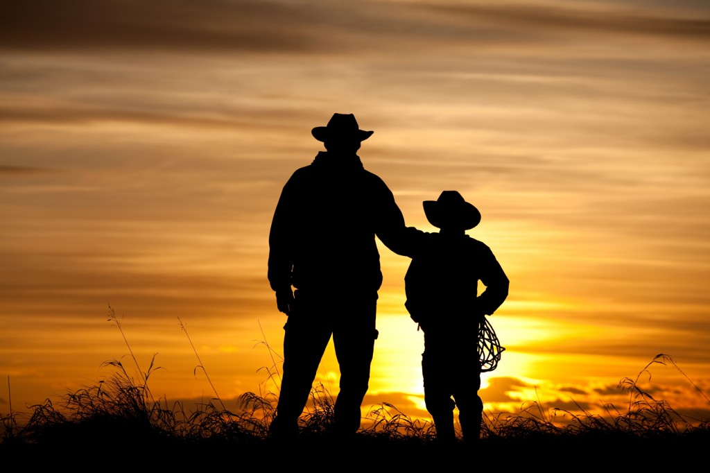 """Cowboy Silhouette"" - contest entry by Andrew Penner"