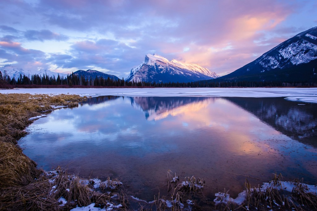"""Mount Rundle"" –contest entry by Hamish Mitchell"