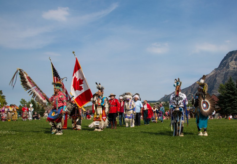 Grand Entry at the Blackfoot Arts and Heritage Festival – Frank Weinschenk