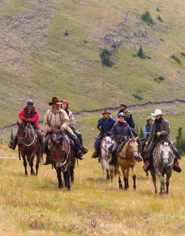 Experience Horseback Pack Trips 3 - Photo Courtesy of Anchor D