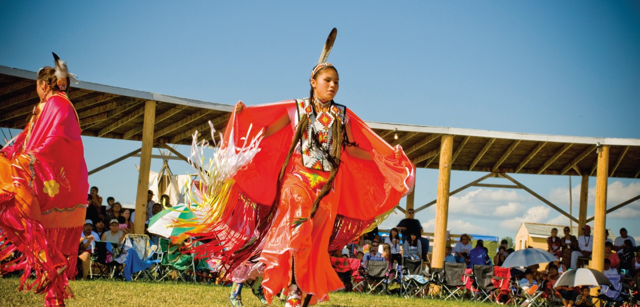 Pow Wow - courtesy Travel Alberta