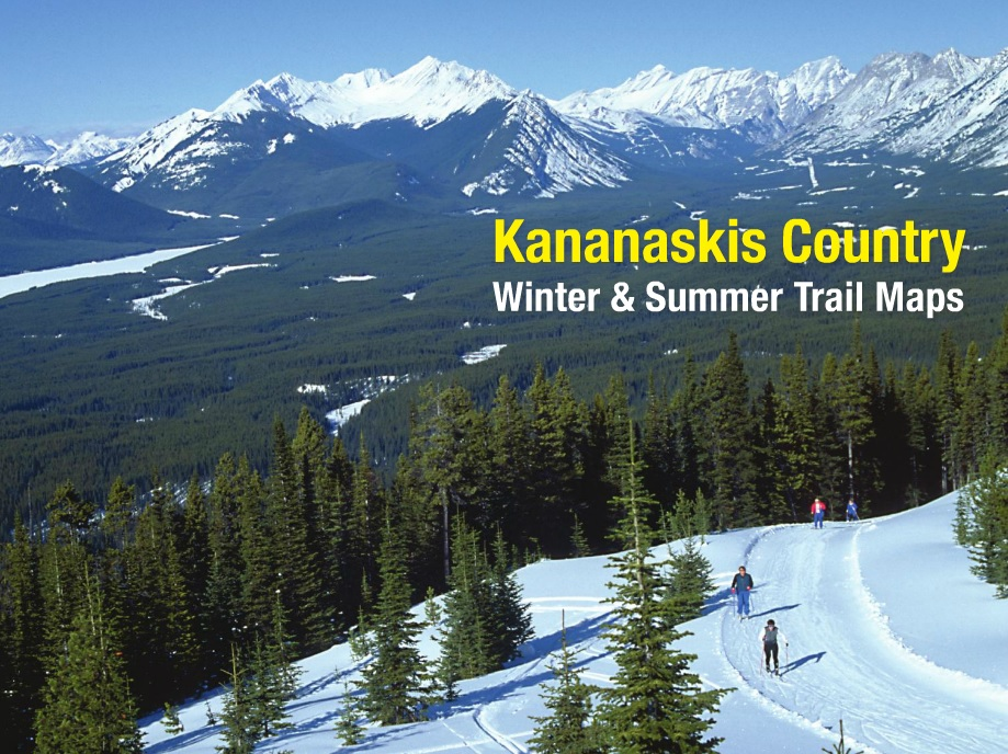 Kananaskis Country Winter and Summer Trail Maps cover