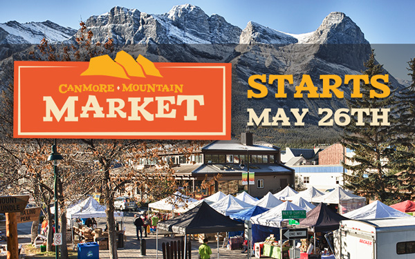 Canmore Mountain Market starts May 26 2016
