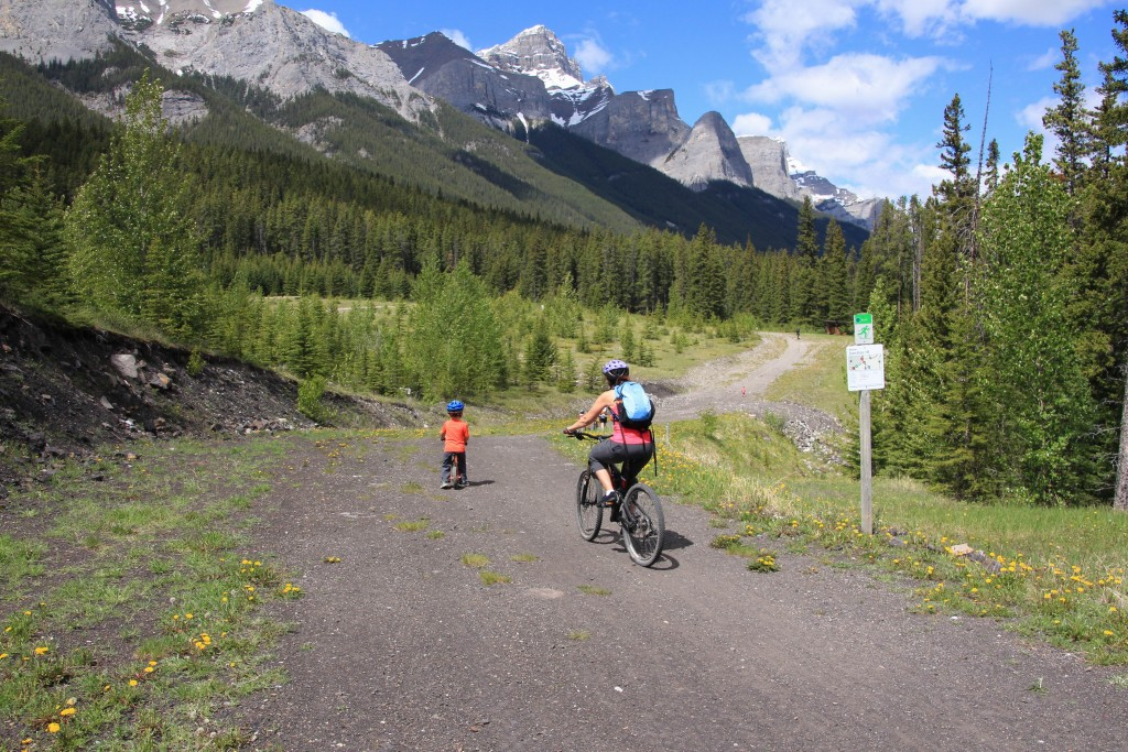 Kananaskis Country by Bike - Canmore Nordic Centre