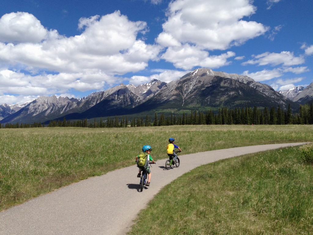 Kananaskis Country by Bike - Canmore Trails