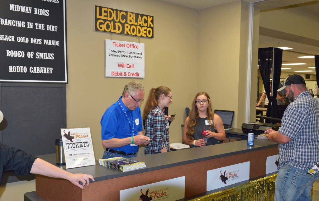 Experience the Cowboy Trail at LBGR Ticket Sales Desk