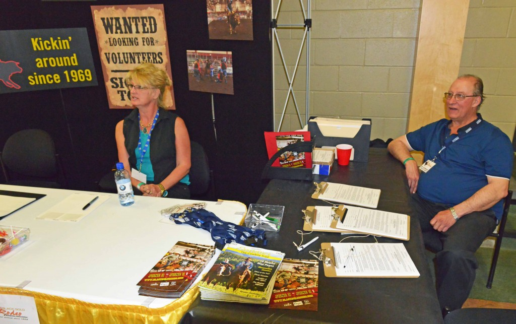 Experience the Cowboy Trail at LBGR Volunteer Desk