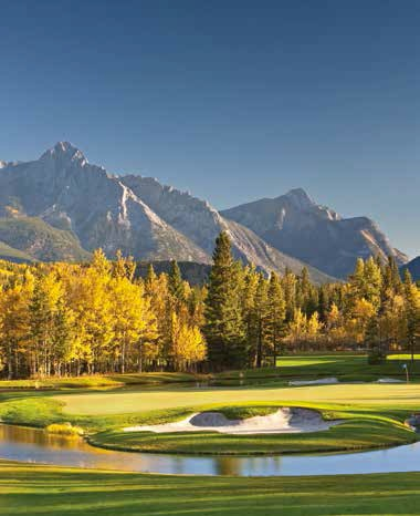 Mount Kidd Course at Kananaskis Country Golf Course - Photo by Andrew Penner