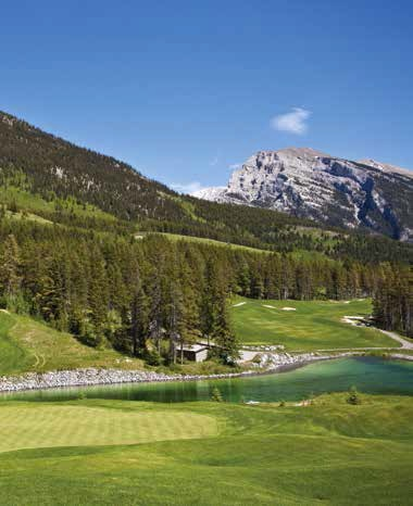 Par-4 18th at Silvertip - Photo by Andrew Penner