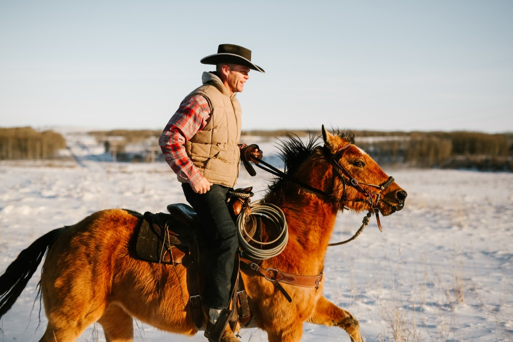 My Dad on the Homestead - Cowboy Trail Photo Contest entry
