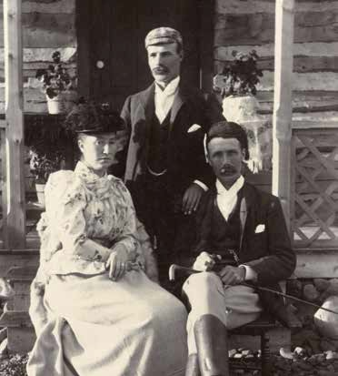 Robert and Kate Turner, Alberta - PA-3945-1 Courtesy of The Glenbow Museum